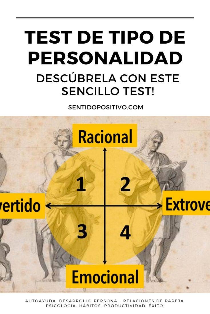 Test de tipo de personalidad: ¡Descúbrela con este sencillo test!