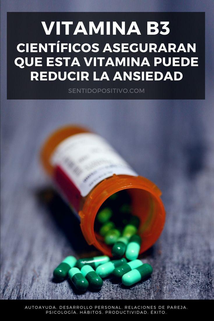 Vitamina B3: Científicos aseguraran que esta vitamina puede reducir la ansiedad