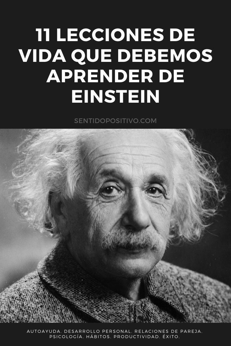 Frases de Einstein: 11 Lecciones de vida que debemos aprender de Einstein