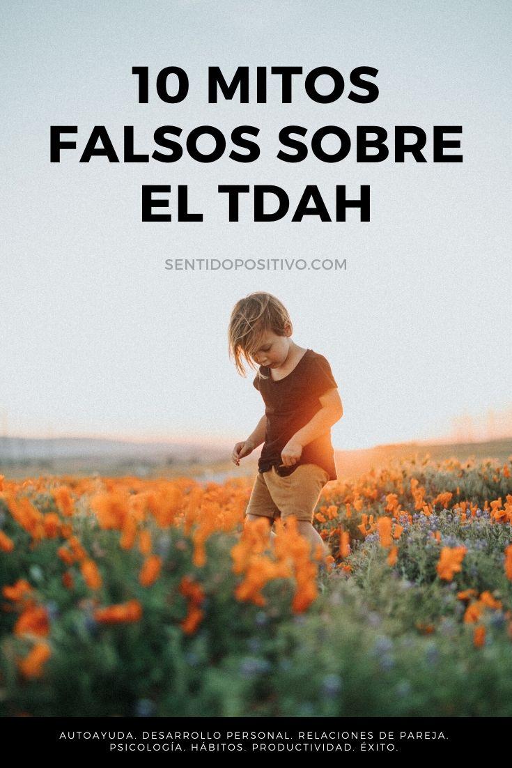 Mitos del TDAH: 10 Mitos falsos sobre el TDAH